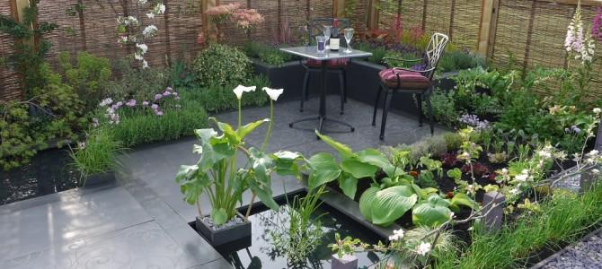 Malvern show garden 2010